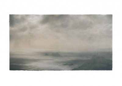 Atlantic, 79cm x 145cm, Pastel on Paper.
