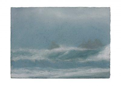 In Series No.1, 15cm x 21cm, Pastel on Paper.