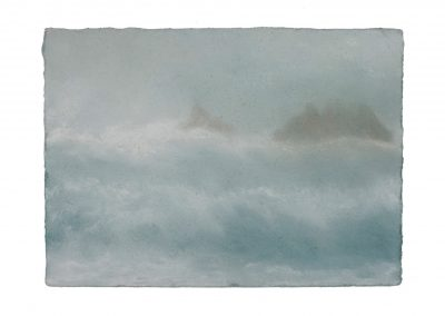 In Series No.2, 15cm x 21cm, Pastel on Paper.