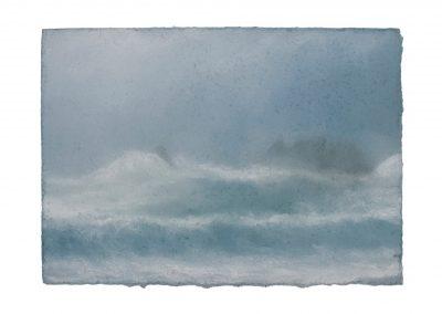 In Series No.3, 15cm x 21cm, Pastel on Paper.