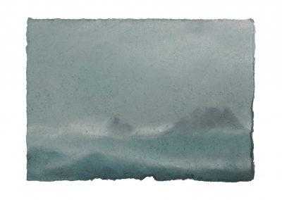 In Series No.4, 15cm x 21cm, Pastel on Paper.