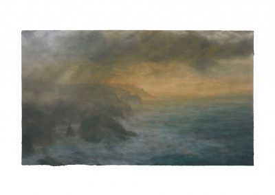 Sublime, a View From Pendeen Watch, 92cm x 158cm, Pastel on Paper.