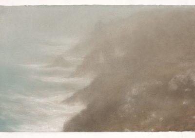 (1500) 14.1.07 Botallack, 28.5cm x 44cm, Pastel on Paper.