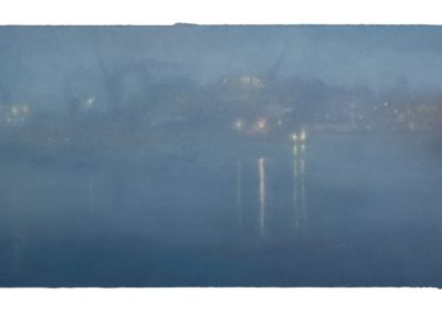 Twilight, Nocturne No.5,  54cm x 97cm, Pastel on Paper.