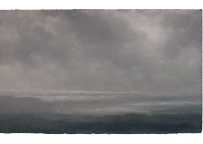 Shimmer, From Tom Thumb Rock, 27cm x 35cm, Pastel on Paper.