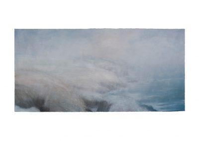 Blizzard Pendeen, 81cm x 168cm, Pastel on Paper.