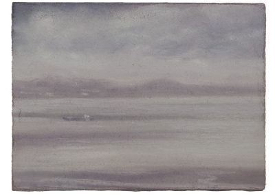 Firth of Forth, 15.5cm x 20.5cm, Pastel on Paper, 2009.