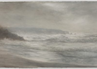Gwynver, 79cm x 155cm, Pastel on Paper.