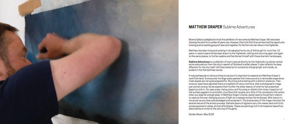 Matthew J Draper, Sublime Adventures.